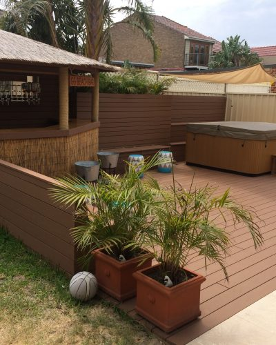 Composite Timber Decking - Soft and Hard Wood